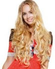 hair extensions for long flowing hair