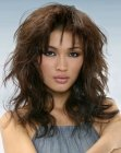 Asian hairstyle with layers