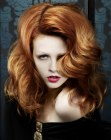 wavy red hair - hob artistic team