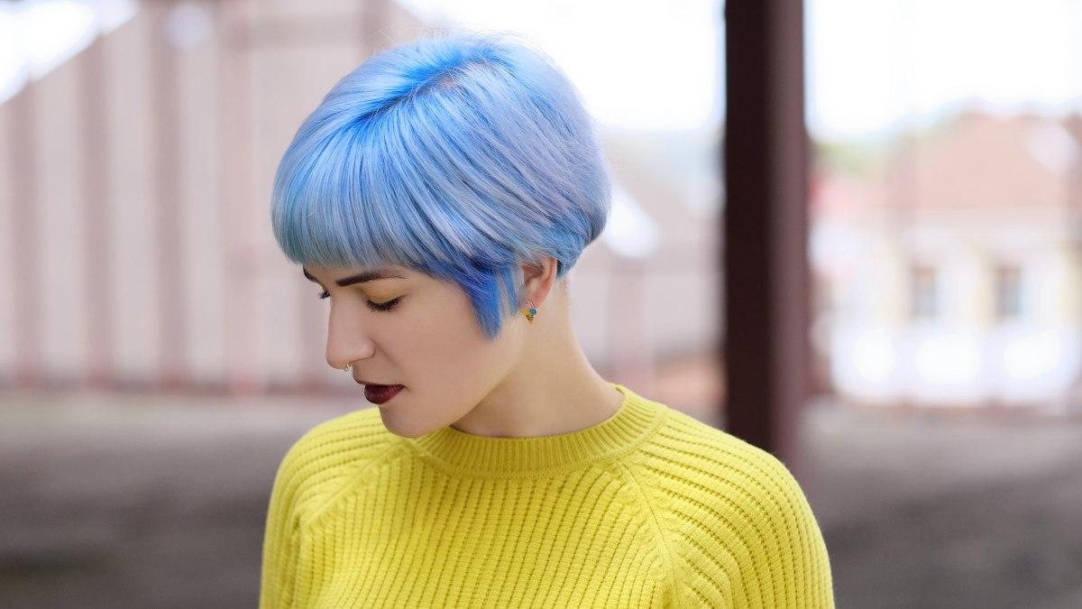 Permanent Blue Hair Dye