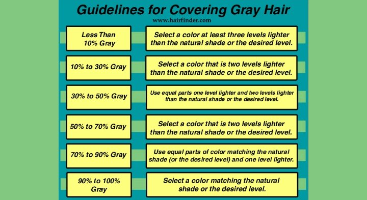 Haircolor To Hide Gray Hair The Use Of Haircolor That