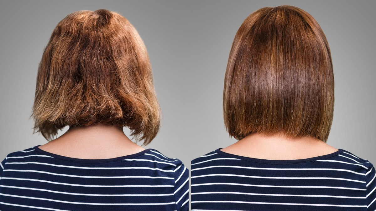 Permanently Straighten Hair Without Thermal Reconstructing Straight Perm