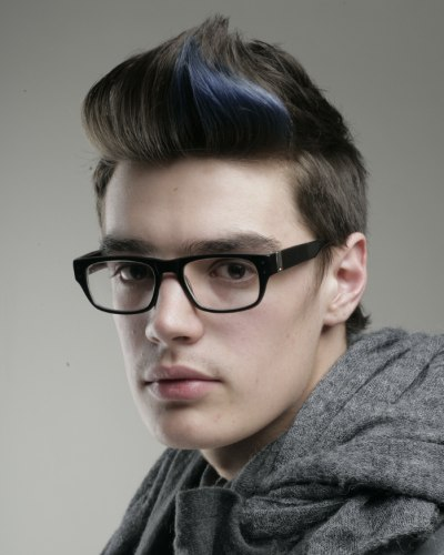 Hairstyles Quiff On Retro Men S Look With A Modern Edge And The Back Of The
