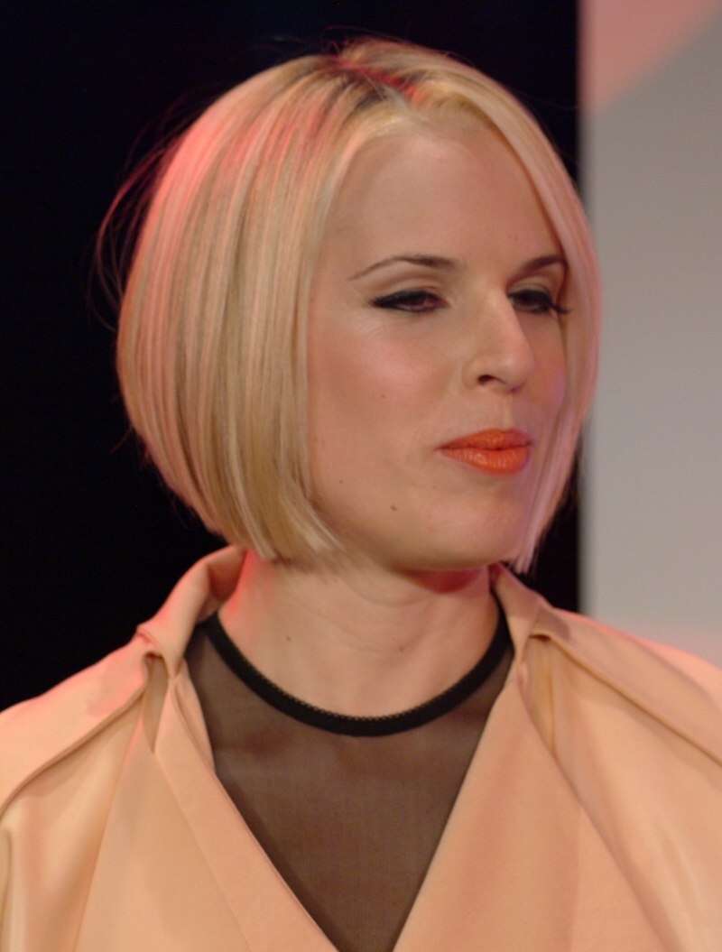 Classy Bob Cut Chin Length Partitioned On The Side And