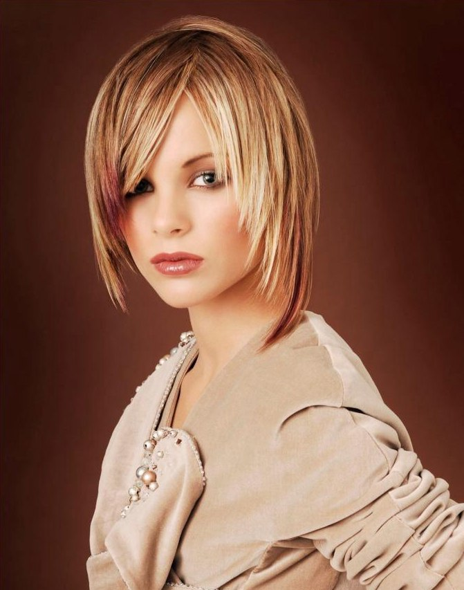 Chin Long Haircut With A Textured And Tapered Shape