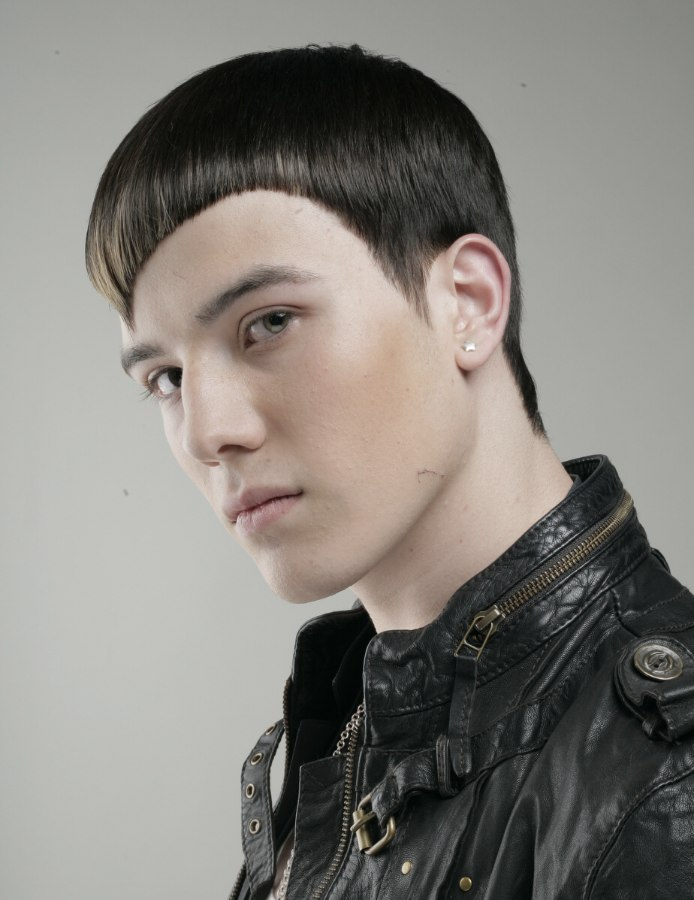 Mens Hairstyle For A Bad Boy Look
