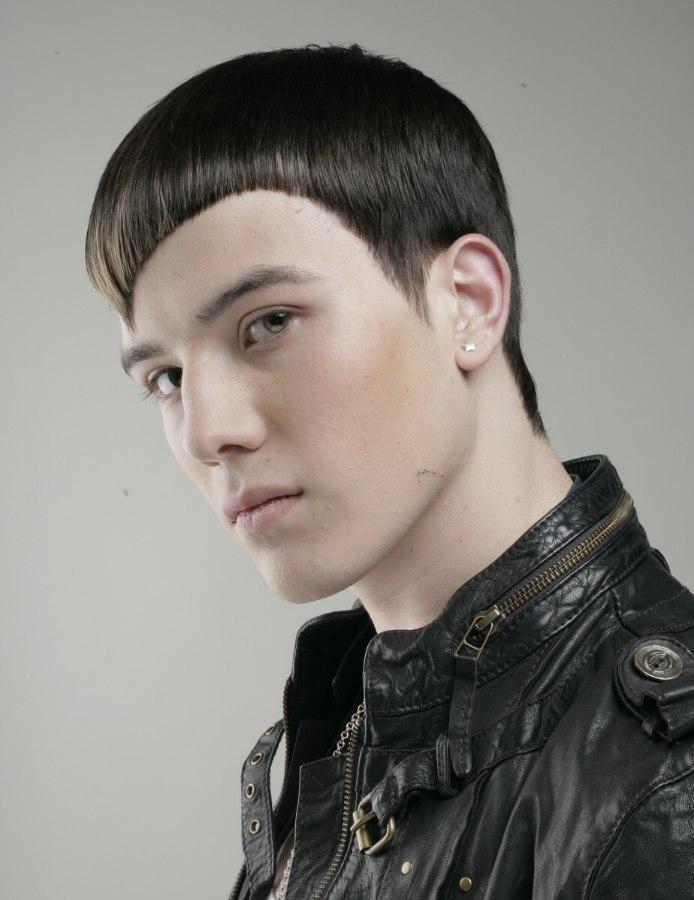 Astonishing Men39S Hairstyle For A Bad Boy Look Short Hairstyles Gunalazisus