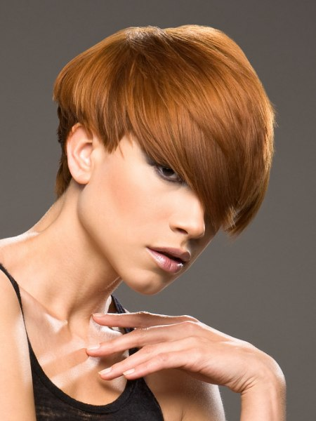 sporty low maintenance haircut for short hair