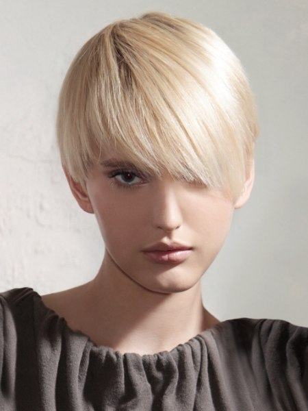 modern look for short hair