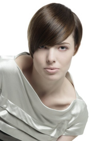 hairstyle with smoothness