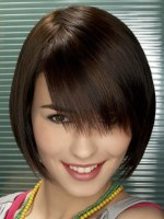 smooth short hairstyle