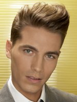 male hairstyle with wave