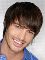 semi-long hairstyle for men