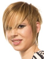 textured short cut