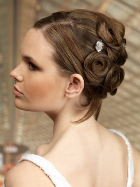 updo for festive events