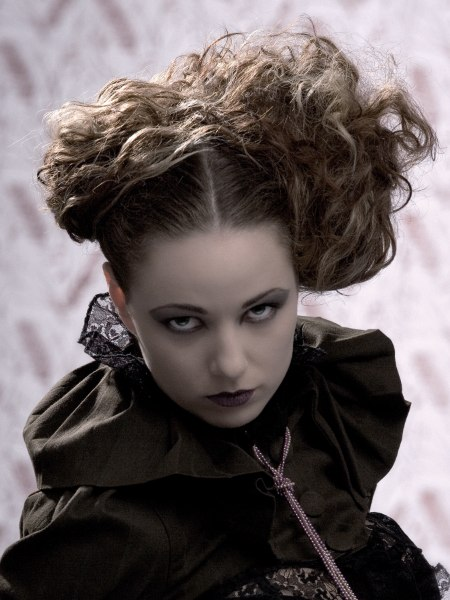gothic hair style