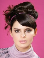 Photo of sixties style updo