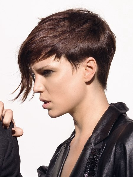 short rock hairstyle