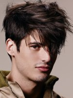 disheveled hairstyle for men