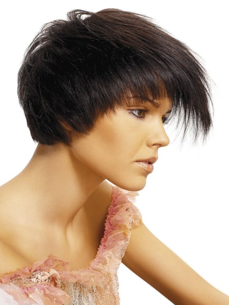 Malwina Ratajczak - romantic short hair