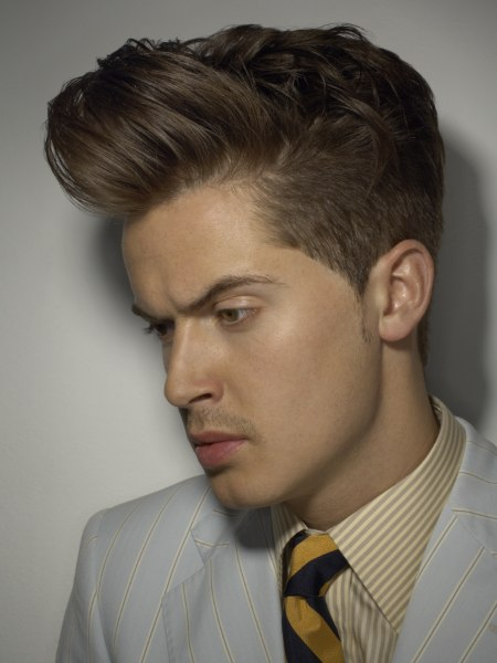 quiff mens haircut