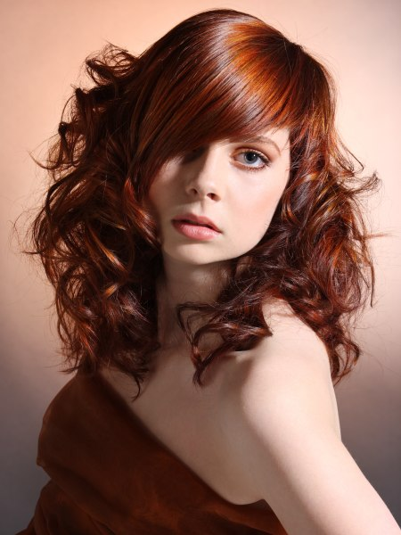 hairstyle with feminine esprit