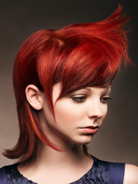 ruby red hue for hair