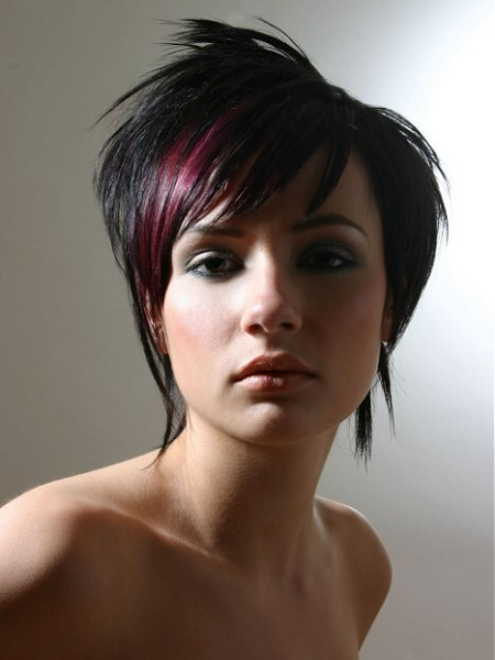 photo of short trend hairstyle