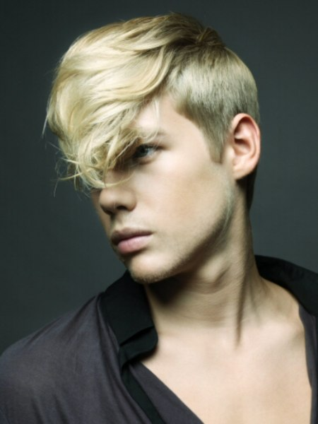 man with blonde hair