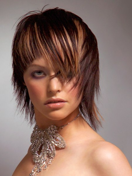 photo of textured haircut