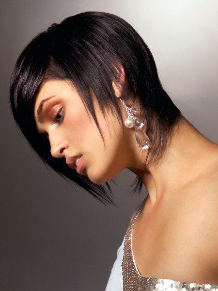 photo of short hairstyle with texture
