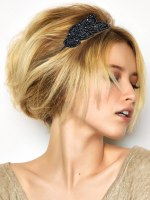 sequined hair accessory