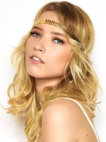 hippie look with a headband