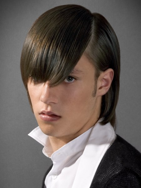 long male hairstyle