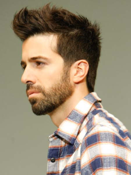 young male haircut