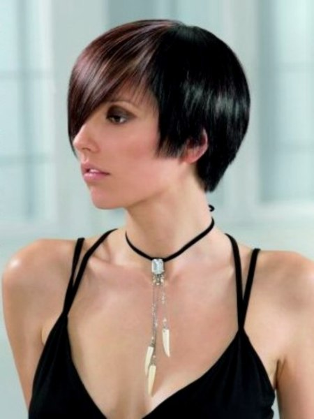 Photo of short bob style haircut