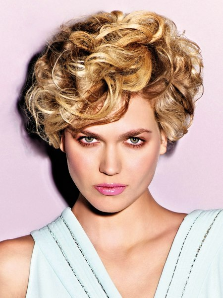 short contemporary hairstyle