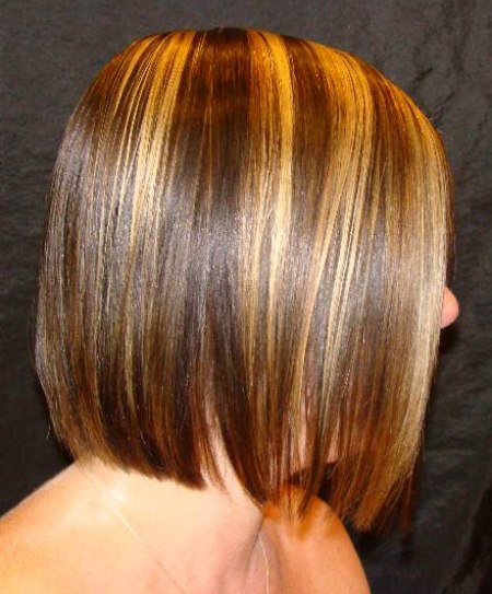 Hairstyles with chic round lines blunt cuts and slanty for Aaina beauty salon somerset nj