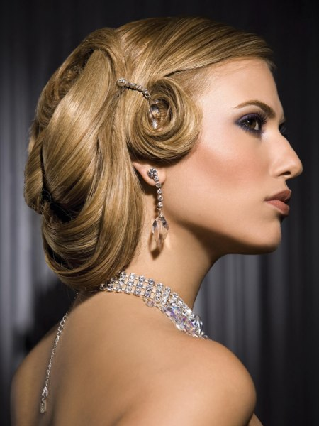 up do with pin curls