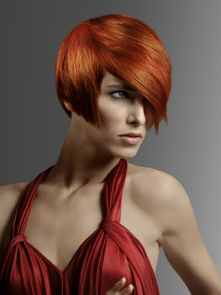 intense red color for hair
