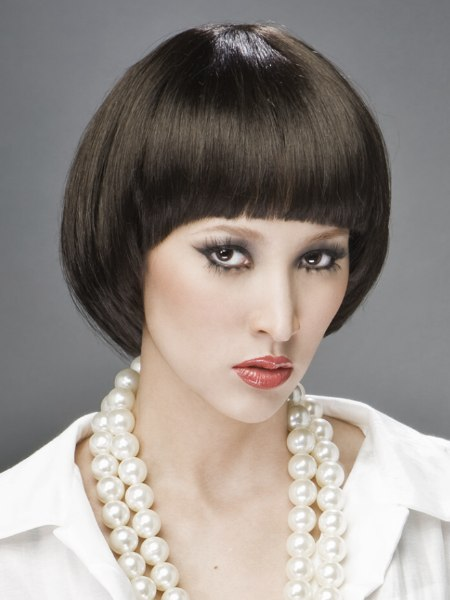 Mireille Mathieu look for hair