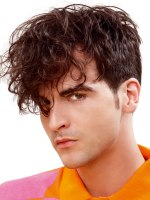 men's hairstyle with long front area