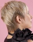 Easy to style and to maintain short hair for women