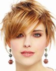trendy short hair cut