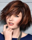contemporary short hairstyle