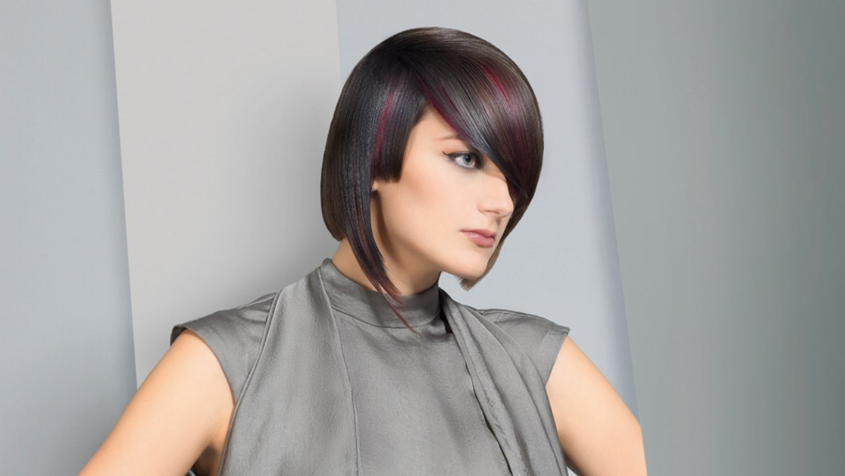 Awe Inspiring Mid Neck Length Hairstyle With Colors That Change With Every Move Short Hairstyles Gunalazisus
