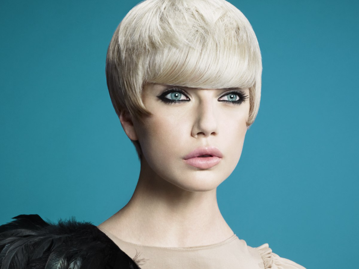 Hair Style Short Bob: Short Haircut That Looks Like An Ultra Short Bob