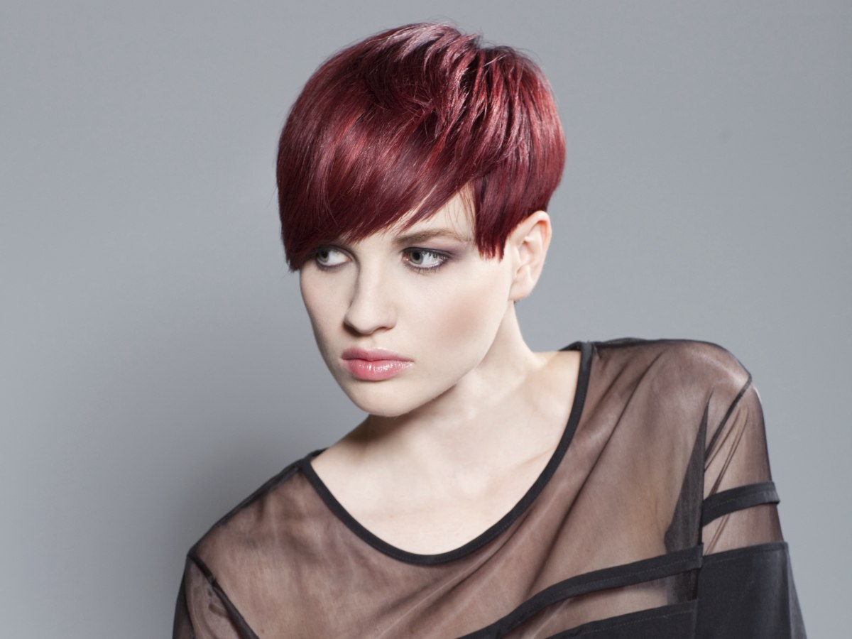 hair style and hair color above the ears tomboy haircut hair color 56551