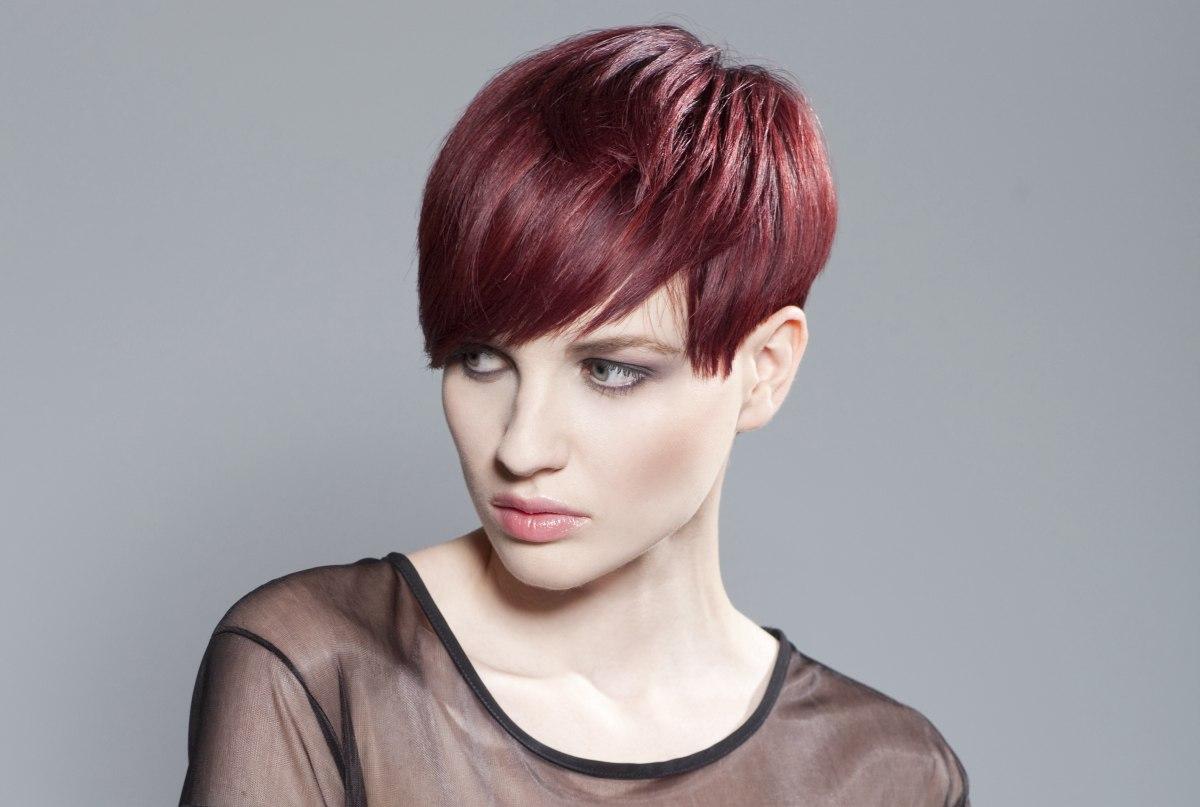 Asymmetrical Short Hair Back Hairstyles for short hair