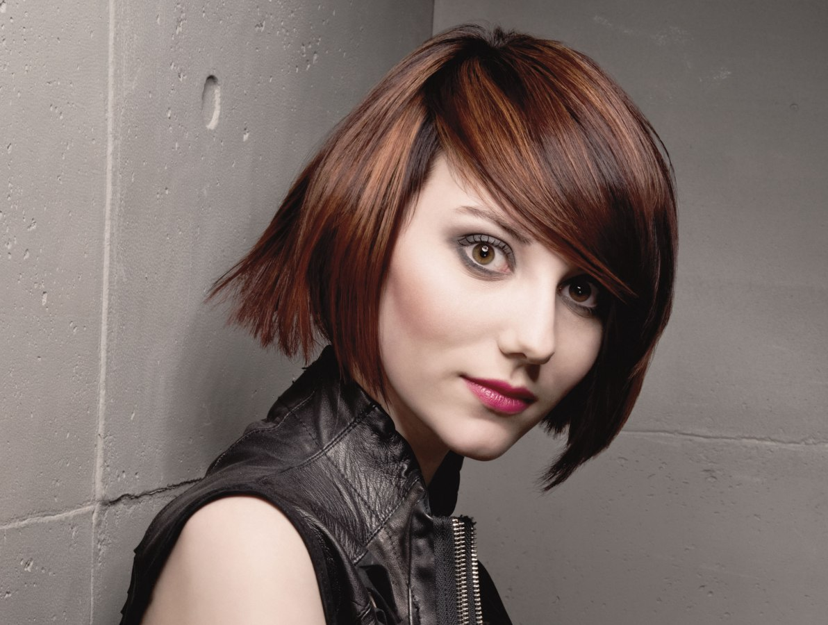 Trendy Big City Hairstyles Layers Bobs And Feisty Short Hair